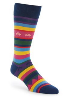 Paul Smith Crab Stripe Socks