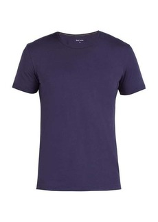 Paul Smith Crew-neck cotton pyjama top
