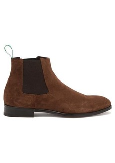 Paul Smith Crown suede Chelsea boots