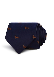 Paul Smith Dachsund Pattern Classic Tie