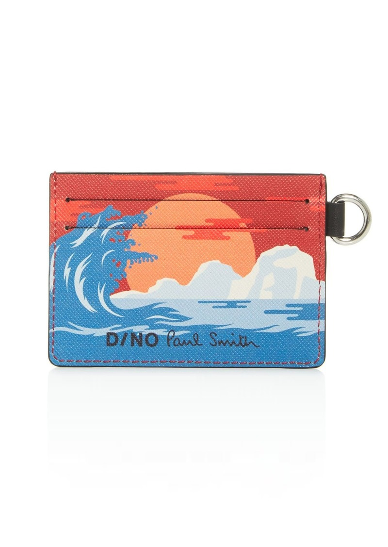 Paul Smith Dino Leather Card Case