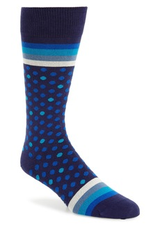 Paul Smith Dot & Stripe Socks