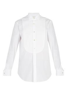 Paul Smith Double-cuff curved-bib cotton evening shirt