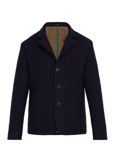 Paul Smith Double-faced wool jacket