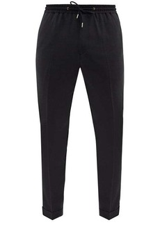 Paul Smith Drawstring wool suit trousers