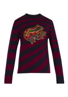 Paul Smith Dreamer Frog-intarsia wool-blend sweater