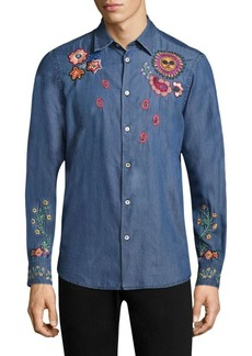 Paul Smith Embroidery 1974 Chambray Shirt