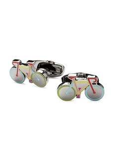 Paul Smith Enamel Bicycle Cufflinks