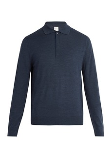 Paul Smith Fine-knit wool polo shirt