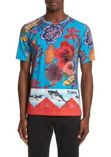 Paul Smith Fish Print T-Shirt