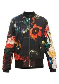 Paul Smith Floral-print reversible bomber jacket