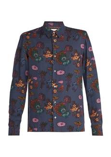 Paul Smith Florian-print jersey shirt