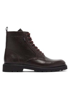 Paul Smith Fowler grained-leather boots