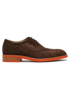 Paul Smith Fremont contrast-sole suede brogues