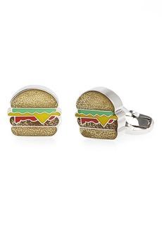 Paul Smith Glitter Hamburger Cuff Links