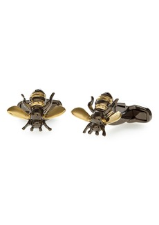 Paul Smith Gold Bee Cuff Links