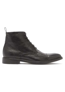 Paul Smith Jarman lace-up leather boots