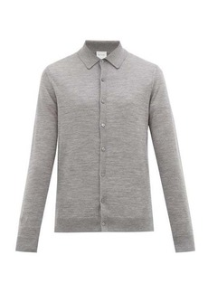 Paul Smith Knitted merino wool cardigan