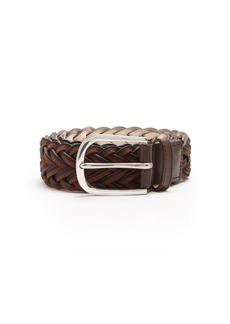 Paul Smith Leather braided belt