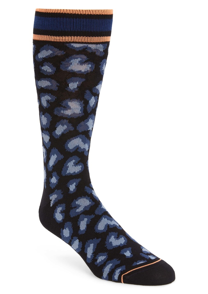 Paul Smith Leopard Spot Socks