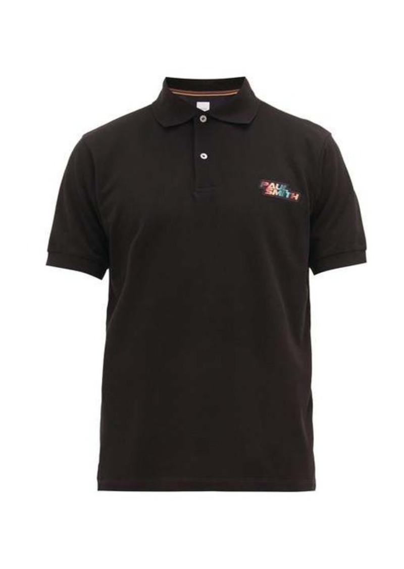 Paul Smith Logo-embroidered cotton-piqué polo shirt