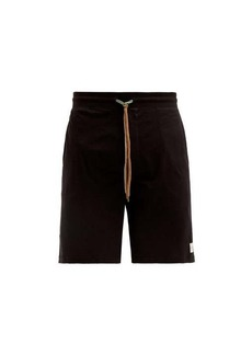 Paul Smith Logo-patch cotton-jersey pyjama shorts