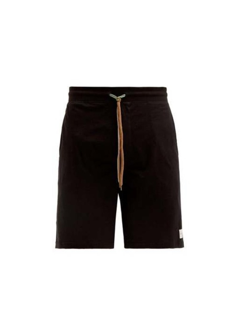 Paul Smith Logo-patch cotton-jersey pyjama shorts