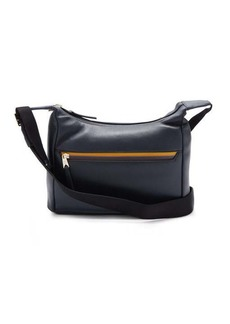 Paul Smith Logo-stripe leather cross-body bag