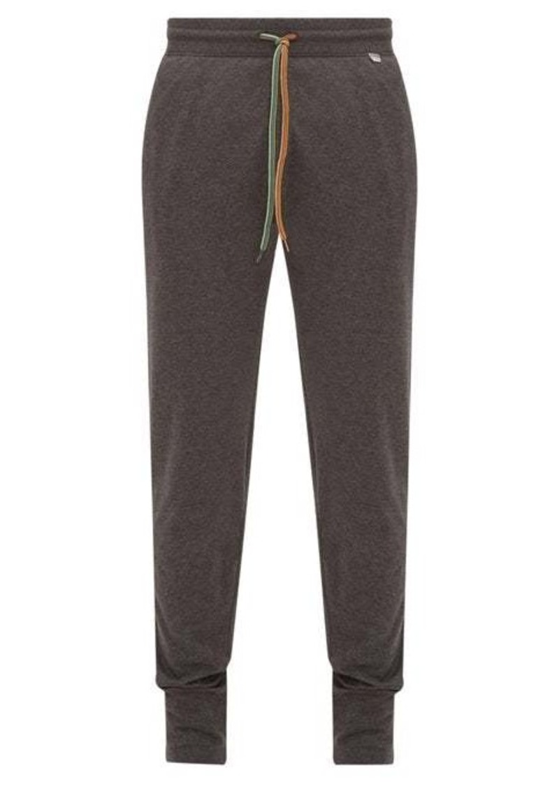 Paul Smith Logo-tab cotton-jersey track pants