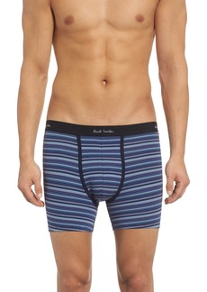 Paul Smith Long Leg Stretch Cotton Boxer Briefs