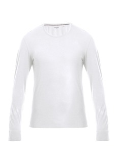 Paul Smith Long-sleeved cotton-jersey pyjama top