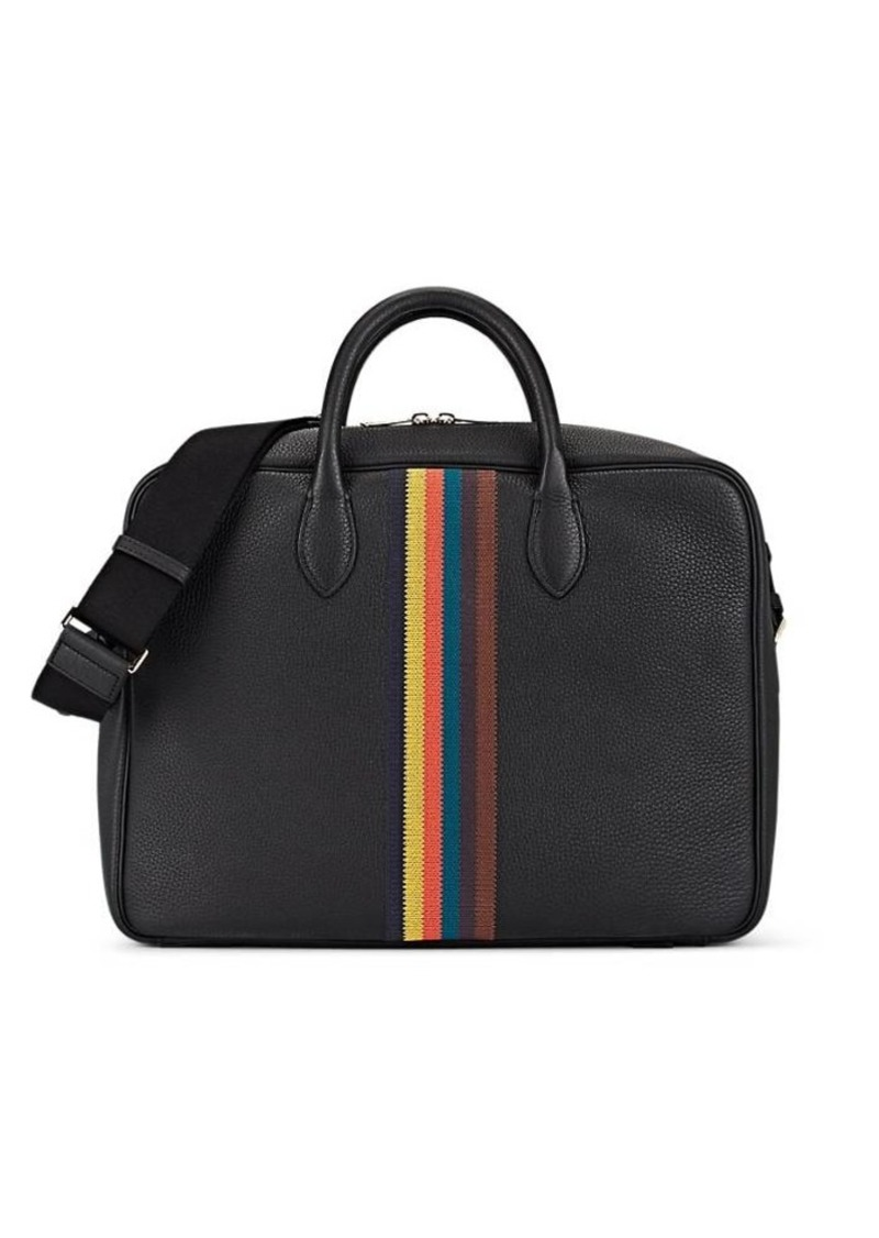 Paul Smith Men's Leather Briefcase - Black
