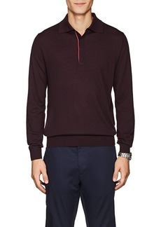 Paul Smith Men's Merino Wool Polo Shirt