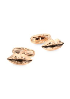 Paul Smith Metal Lips Cufflinks
