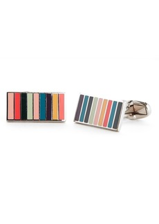 Paul Smith Mini Stripe Cuff Links