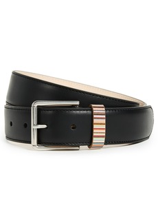 Paul Smith Multi Stripe Keeper Belt