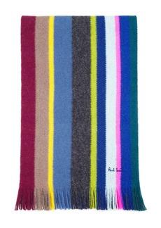 Paul Smith Multicolored-Stripe Scarf