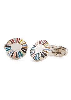 Paul Smith Multistripe Cuff Links