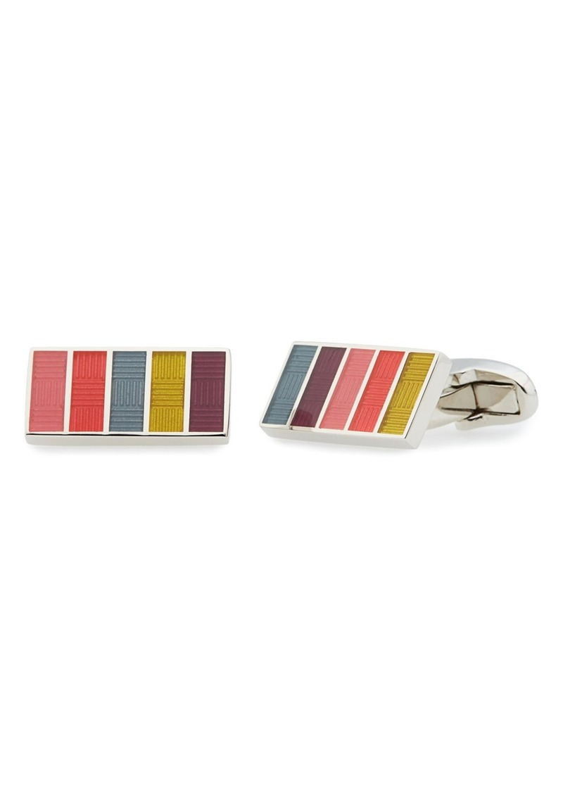 Paul Smith 'New Stripe' Cuff Links
