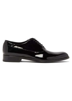 Paul Smith Noam patent-leather oxford shoes