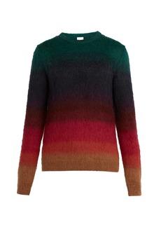 Paul Smith Ombré mohair-blend sweater