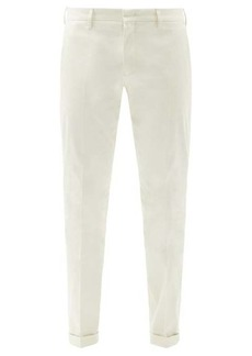 Paul Smith Organic-cotton slim-leg chino trousers
