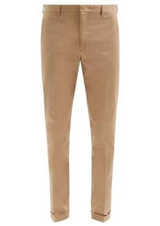 Paul Smith Organic cotton-twill slim-leg chinos
