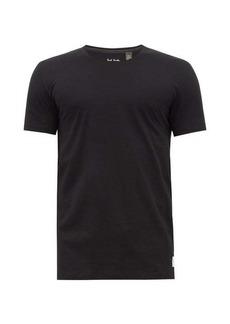 Paul Smith Overlocked cotton-jersey T-shirt