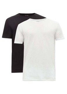 Paul Smith Pack of two cotton-jersey pyjama T-shirts