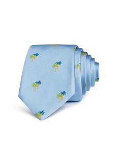 Paul Smith Palm Tree Silk Skinny Tie