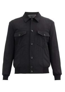 Paul Smith Patch-pocket wool-blend jacket