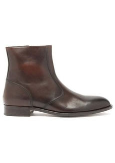 Paul Smith Pembury patinated-leather Chelsea boots