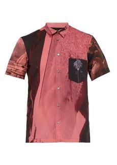 Paul Smith Photo-print short-sleeve cotton shirt
