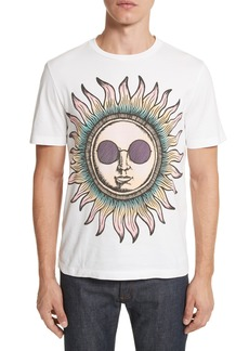 Paul Smith Psychedelic Sun Graphic T-Shirt